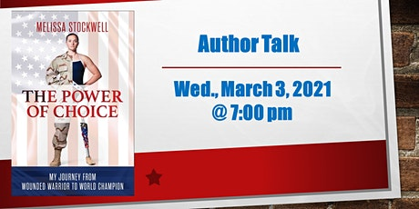 Author Talk with Melissa Stockwell: The Power of Choice tickets