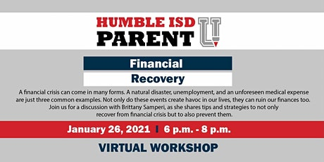 Financial Recovery tickets
