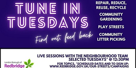 How To Recycle in Redbridge (Tune in Tuesdays) tickets
