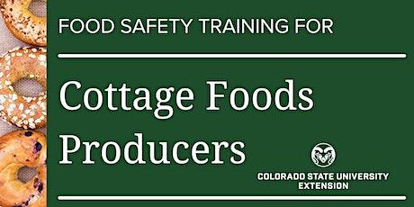 Cottage Food Safety Statewide Online Training tickets