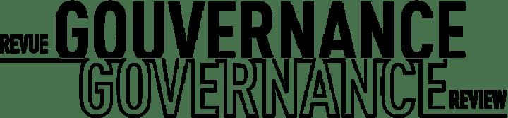 Image de Revue Gouvernance / Governance Review : Lancement du numéro thématique