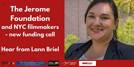Funding and the Jerome Foundation - with Lann Briel tickets