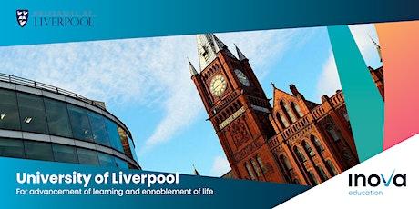 Estudia en la Universidad de Liverpool - sesión informativa en línea tickets