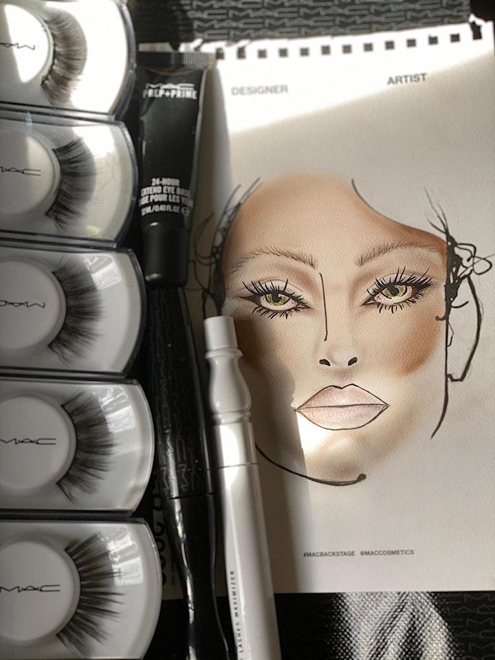 MAC Makeup Masterclass - Mascara and Lashes addict image