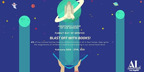 Family Day of Service: Blast Off with Books! tickets