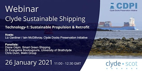 Clyde Sustainable Shipping Webinar 1 tickets