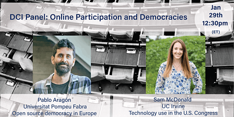 DCI Panel: Online Participation and Democracies tickets
