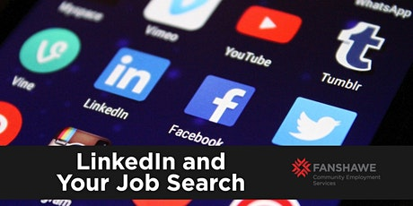 LinkedIn & Your Job Search (Virtual) tickets
