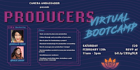 Producers Virtual Bootcamp tickets