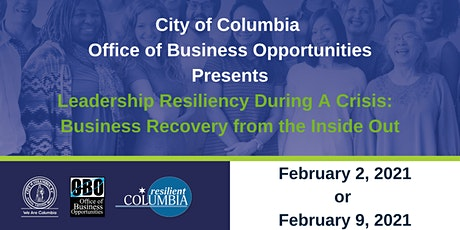 Leadership Resiliency During A Crisis tickets