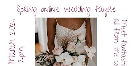 Online Spring Wedding Fayre tickets