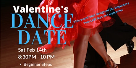 """Valentines Dance Date """"AMORE"""" Flirty Dancing! Feb 14th 2021 tickets"""