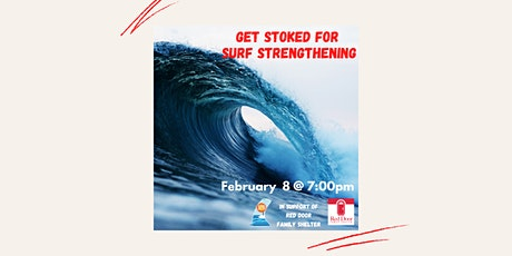 Surf Workout in Support of Red Door Family Shelter tickets