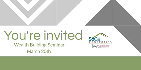 Wealth Building Seminar tickets