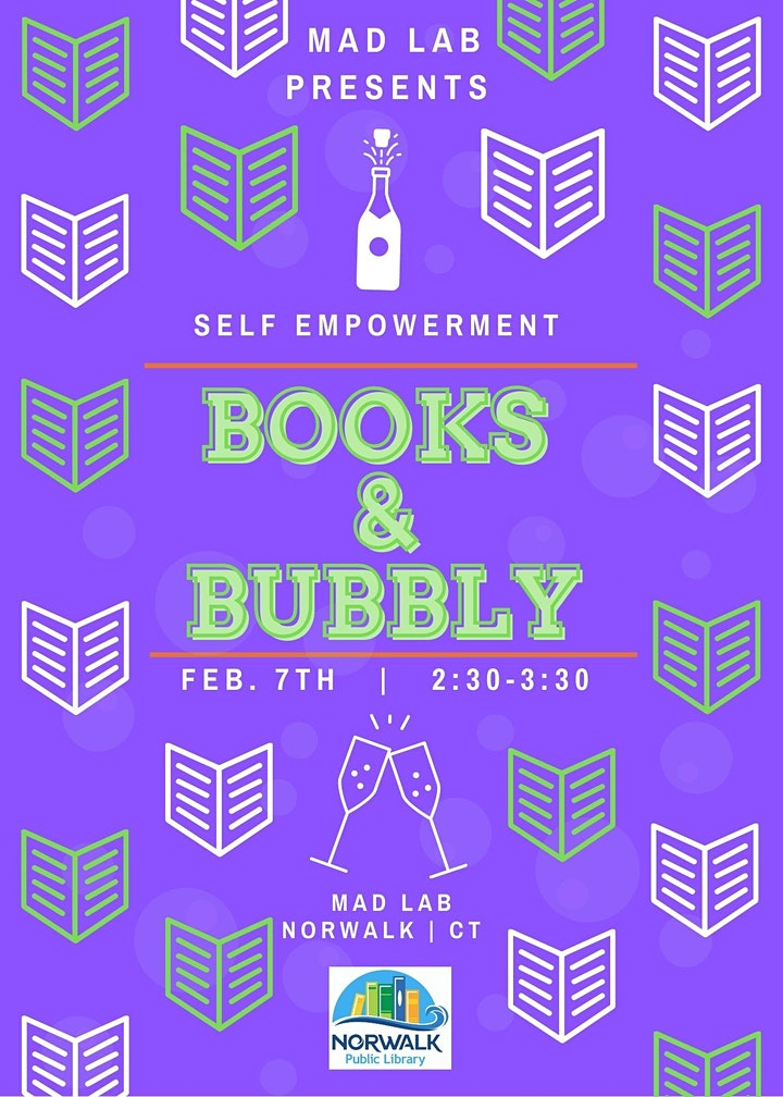 Books & Bubbly | A book club focused on Self Empowerment. image