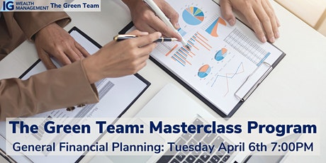General Financial Planning Masterclass with The Green Team tickets