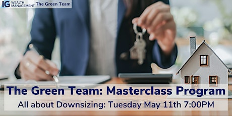 All about Downsizing Masterclass with The Green Team tickets