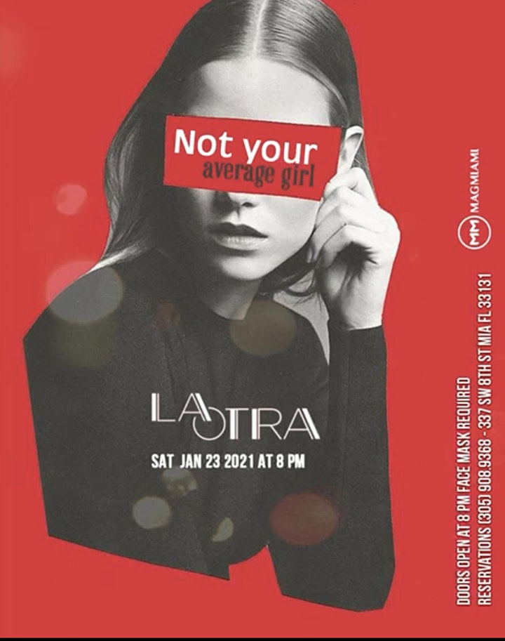 YES! We are BACK this Saturday at LA OTRA! image