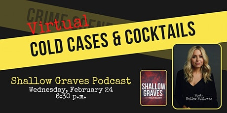 Virtual Cold Cases & Cocktails tickets