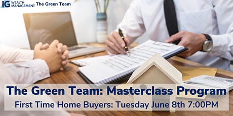 First Time Home Buyers Masterclass with The Green Team tickets