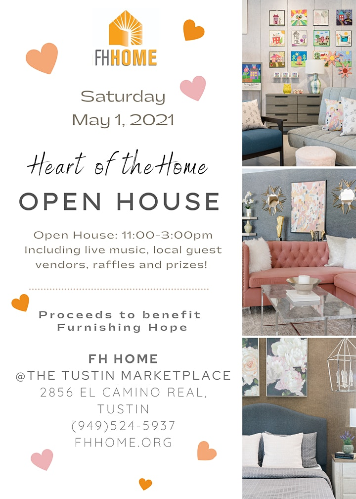 Heart of the Home Grand Opening Open House at FH Home in Tustin Marketplace image