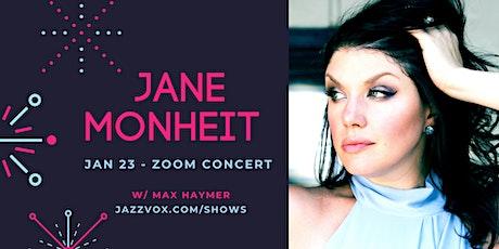 Jane Monheit Duo Concert w/ Max Haymer Volume 5! tickets