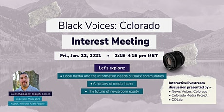 Black Voices Colorado: Interest Meeting tickets
