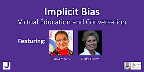Implicit Bias Series with Paula Means and Nedra Feeley (3 sessions) tickets