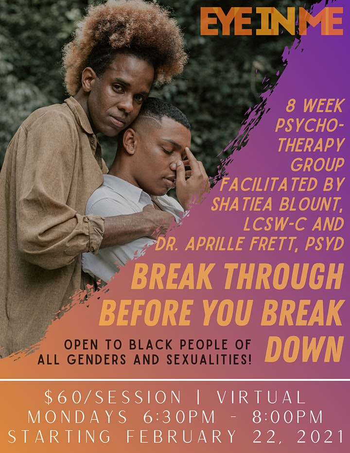 Break Through Before you Break Down - Therapy Group image
