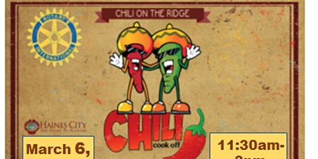 Chili on the Ridge tickets