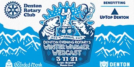 DER's 4th Annual Winter Warmer Webcast benefitting UpTop Denton tickets