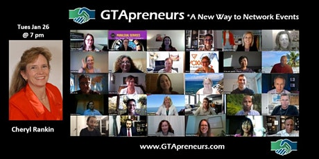 "GTApreneurs Evening Online Networking Event - ""No Dollars Marketing."" tickets"