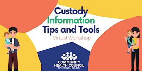 Custody Information Workshop tickets