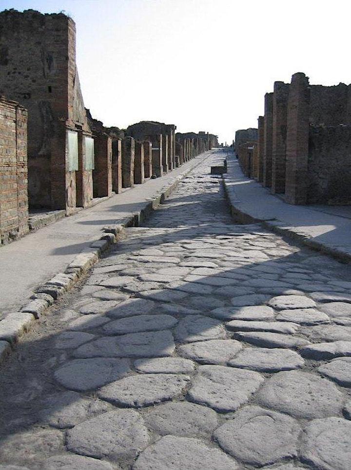 Imagen de Pompeya, la más viva de las ciudades muertas.