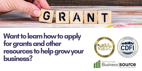 The 411 on Grants & Resources for Small Business Owners tickets