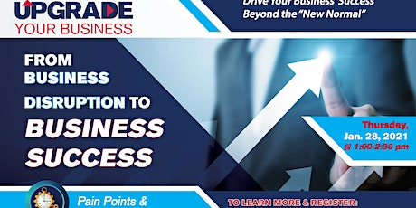 From Business Disruption to Business Success-Recovering Business Operations tickets