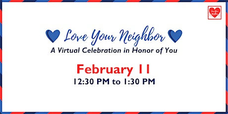 Virtual Love Your Neighbor Celebration tickets
