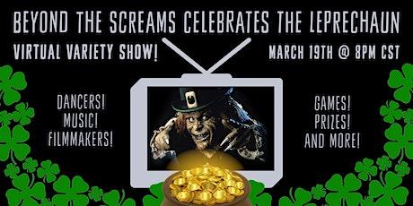 Beyond the Screams celebrates The Leprechaun tickets