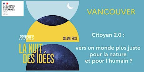 Nuit des idées : Citoyen 2.0 billets