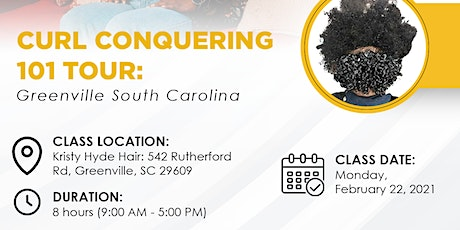 Curl Conquering 101 Tour: Greenville, South Carolina tickets