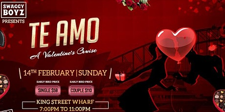 TE AMO- Valentine's Cruise Party tickets