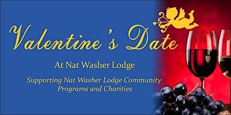 Valentine's Date at Nat M. Washer Lodge tickets