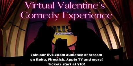 Virtual Valentine's Standup Comedy Experience tickets