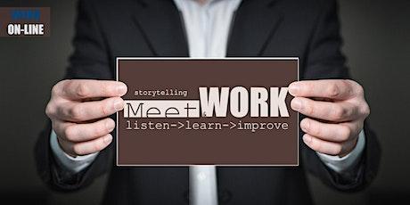 Sessione WORK -  Meet&WORK® On-Line -  11/03/2021 biglietti