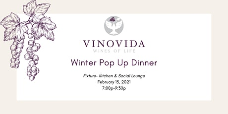 Winter Pop-Up Dinner 2021 tickets