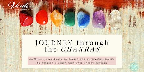 Journey through the Chakras with Crystal Dorado tickets