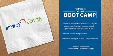 For Impact Funding Boot Camp: Virtual (Pacific Time) tickets