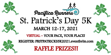 Pacifica Runners St. Patrick's Day Virtual 5K 2021 tickets