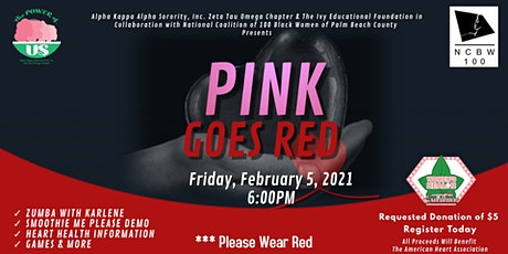 Pink Goes Red tickets
