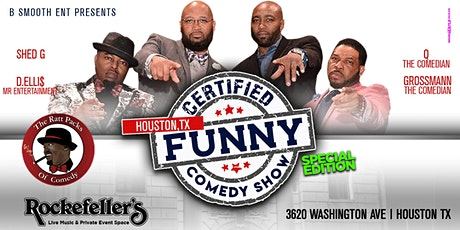 HTX Certified Funny Comedy Show  Starring The Ratt Packs of Comedy tickets